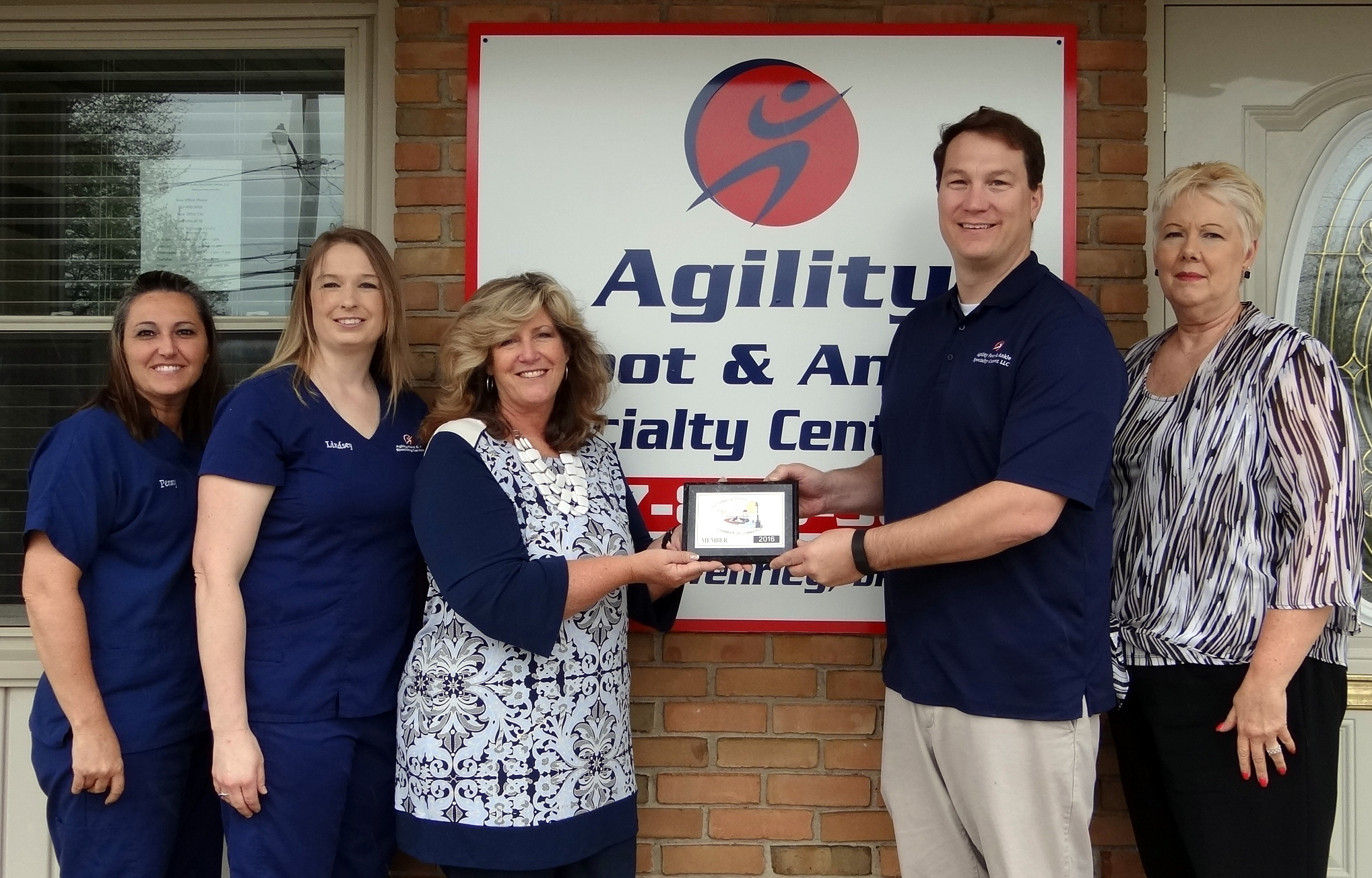 Agility Foot & Ankle Specialty Center, LLC Joins Celina Mercer Co Chamber