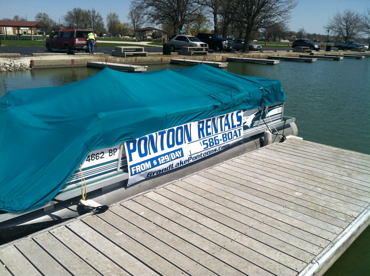 Grand Lake Pontoon Rentals Joins Chamber