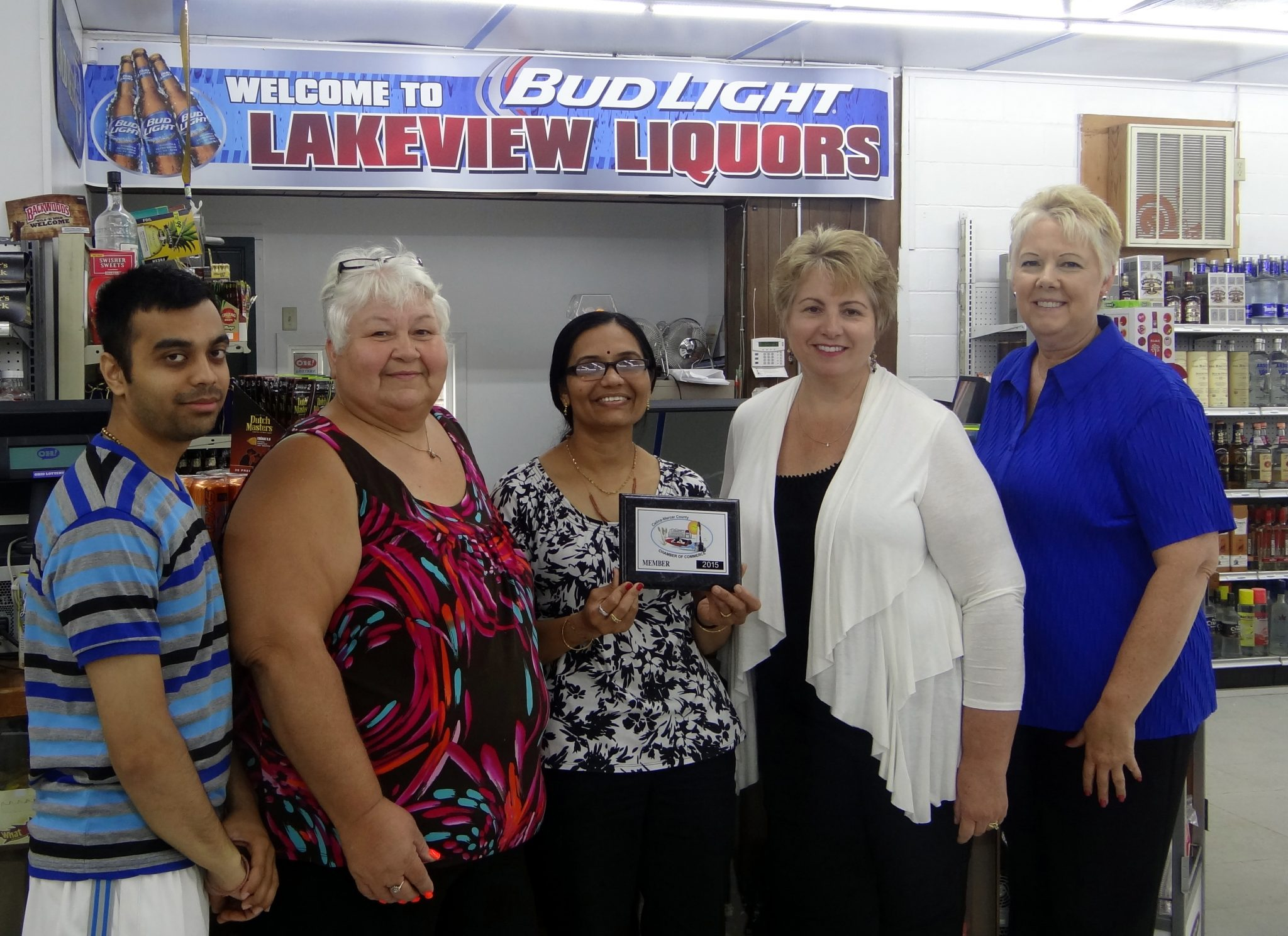 Lakeview Liquors Joins Chamber