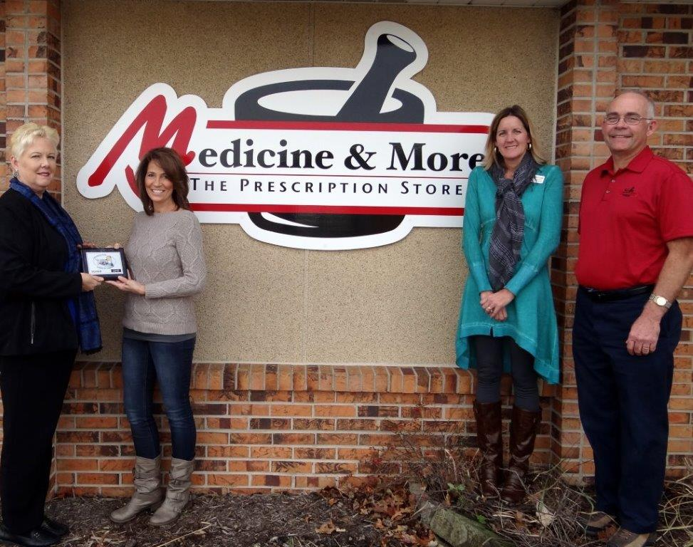 Medicine and More Home Medical Equipment Joins Chamber