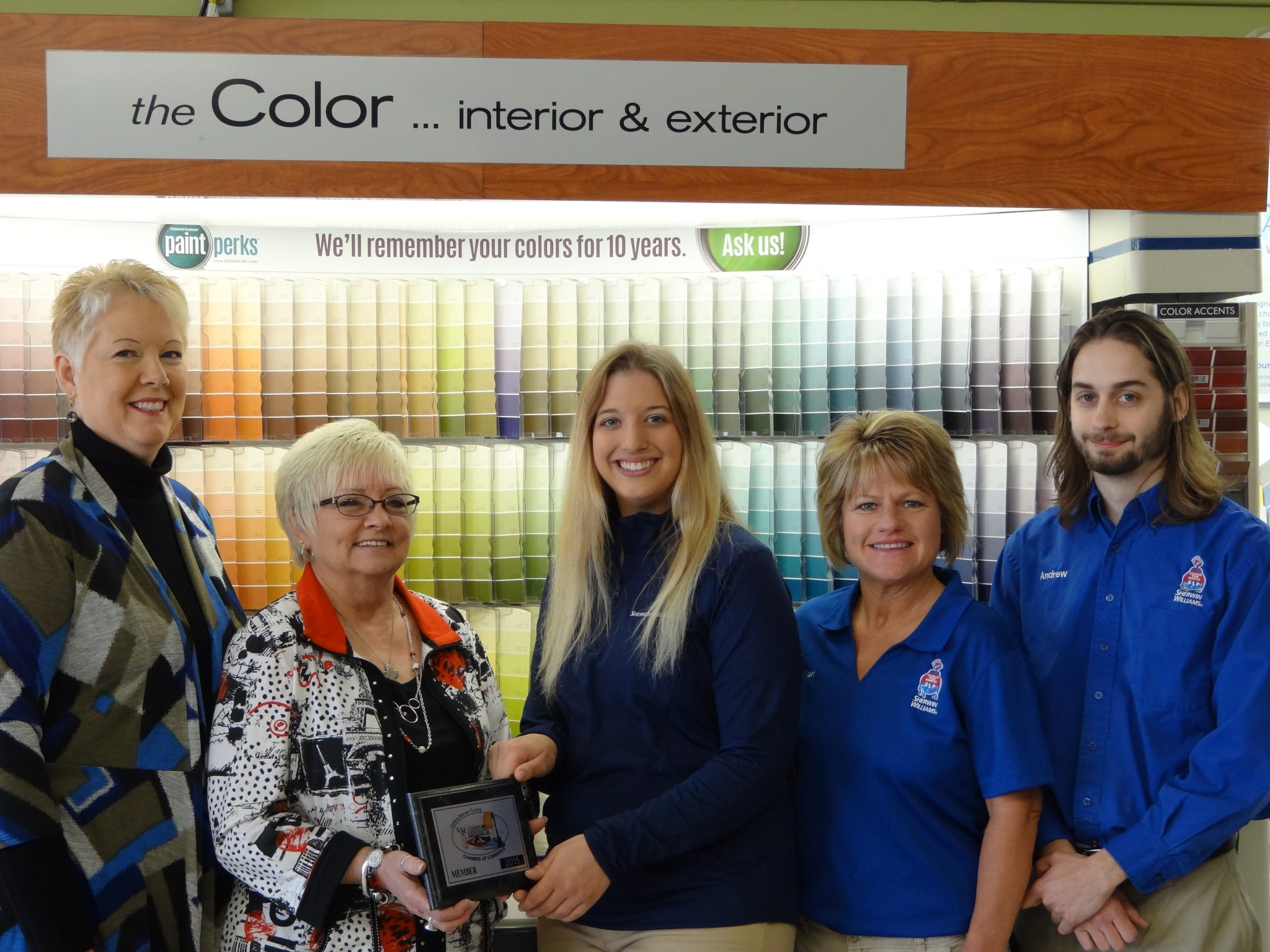 Sherwin Williams Joins Chamber