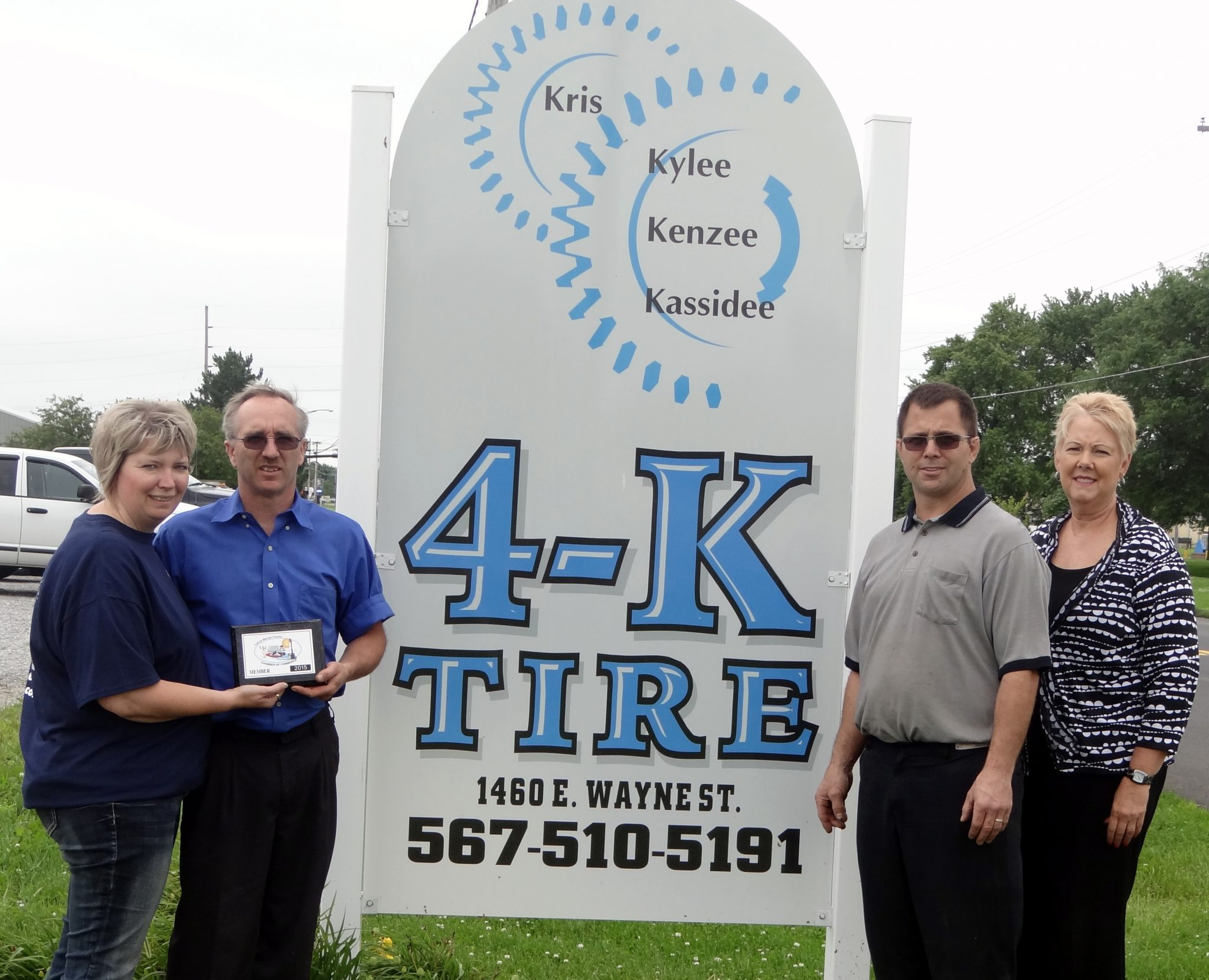 4K Tire Joins Chamber