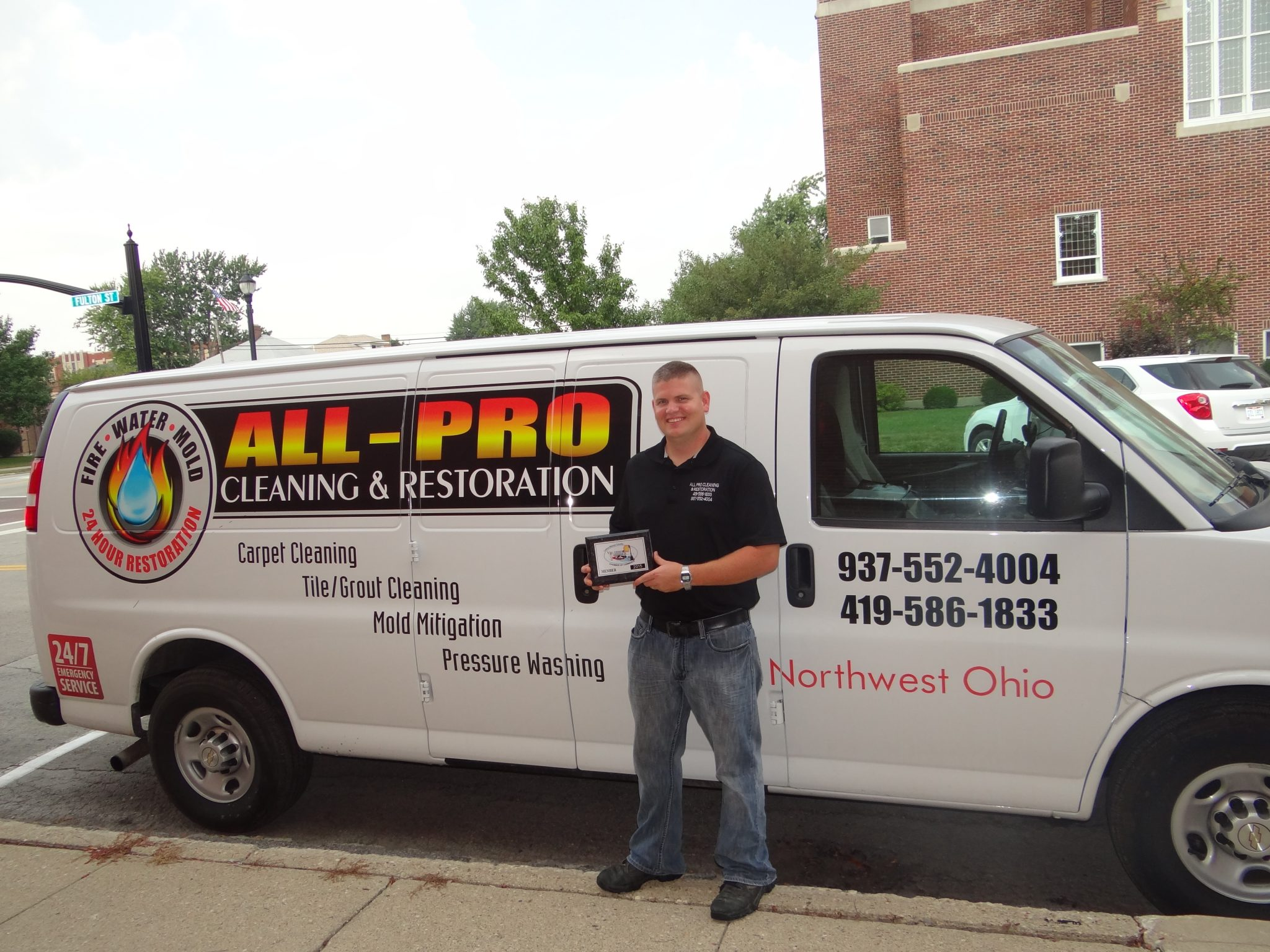 Welcome All Pro Cleaning & Restoration