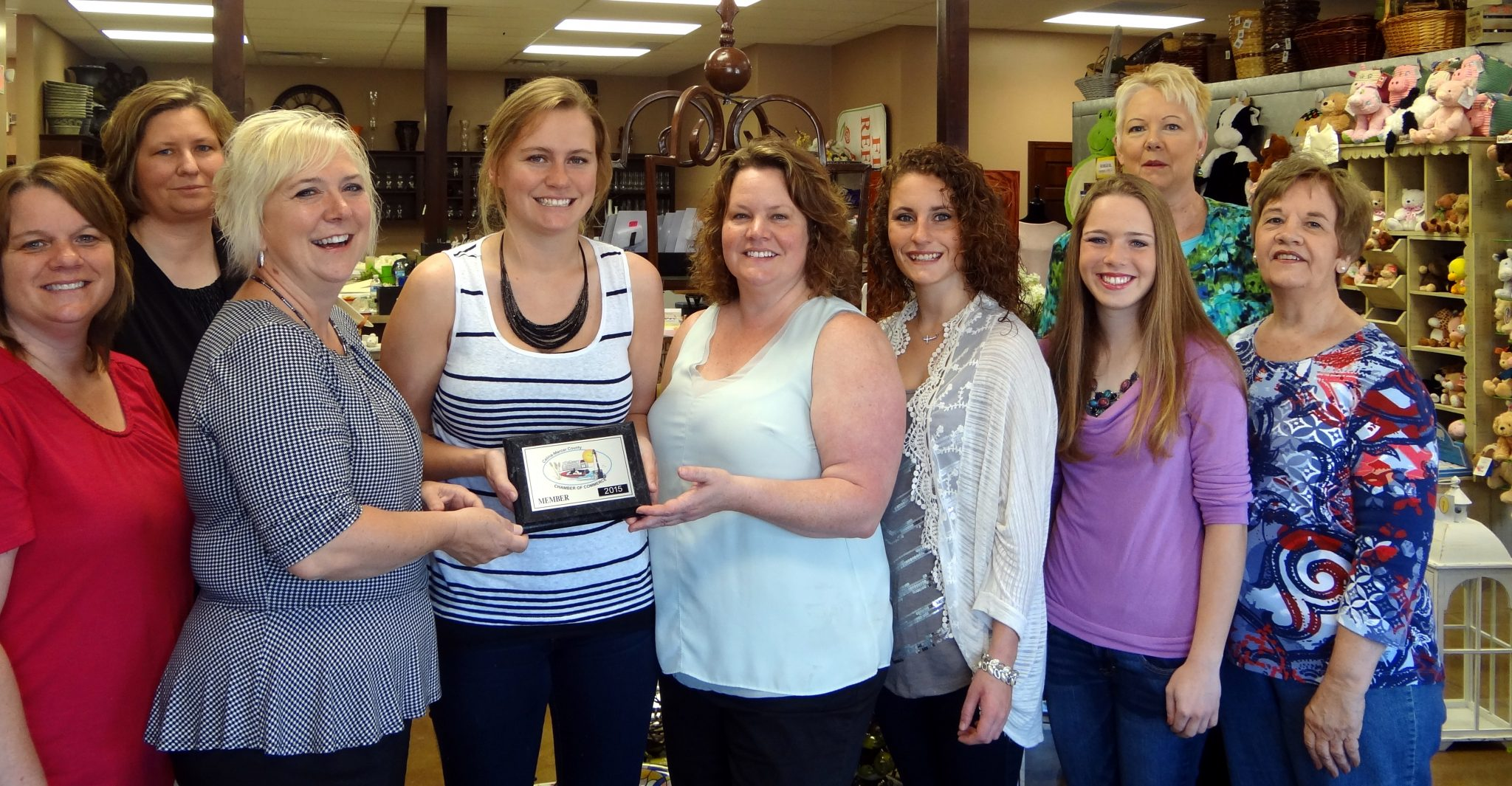 Floral Reflections Joins Chamber Celina Mercer County
