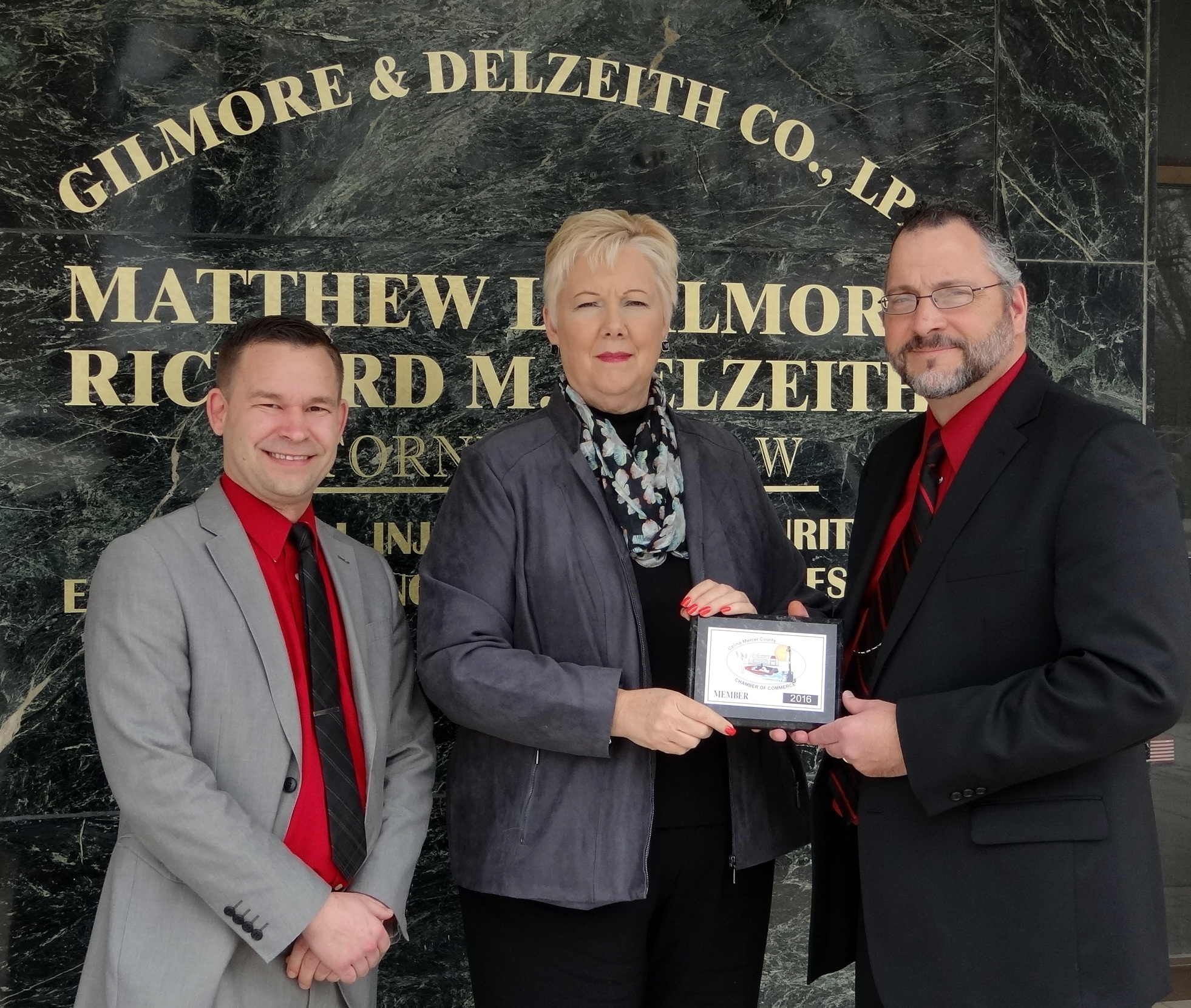 Celina Chamber welcomes Gilmore & Delzeith Co., LPA