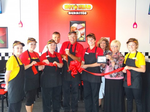 Hot Head Burritos Joins Chamber of Commerce