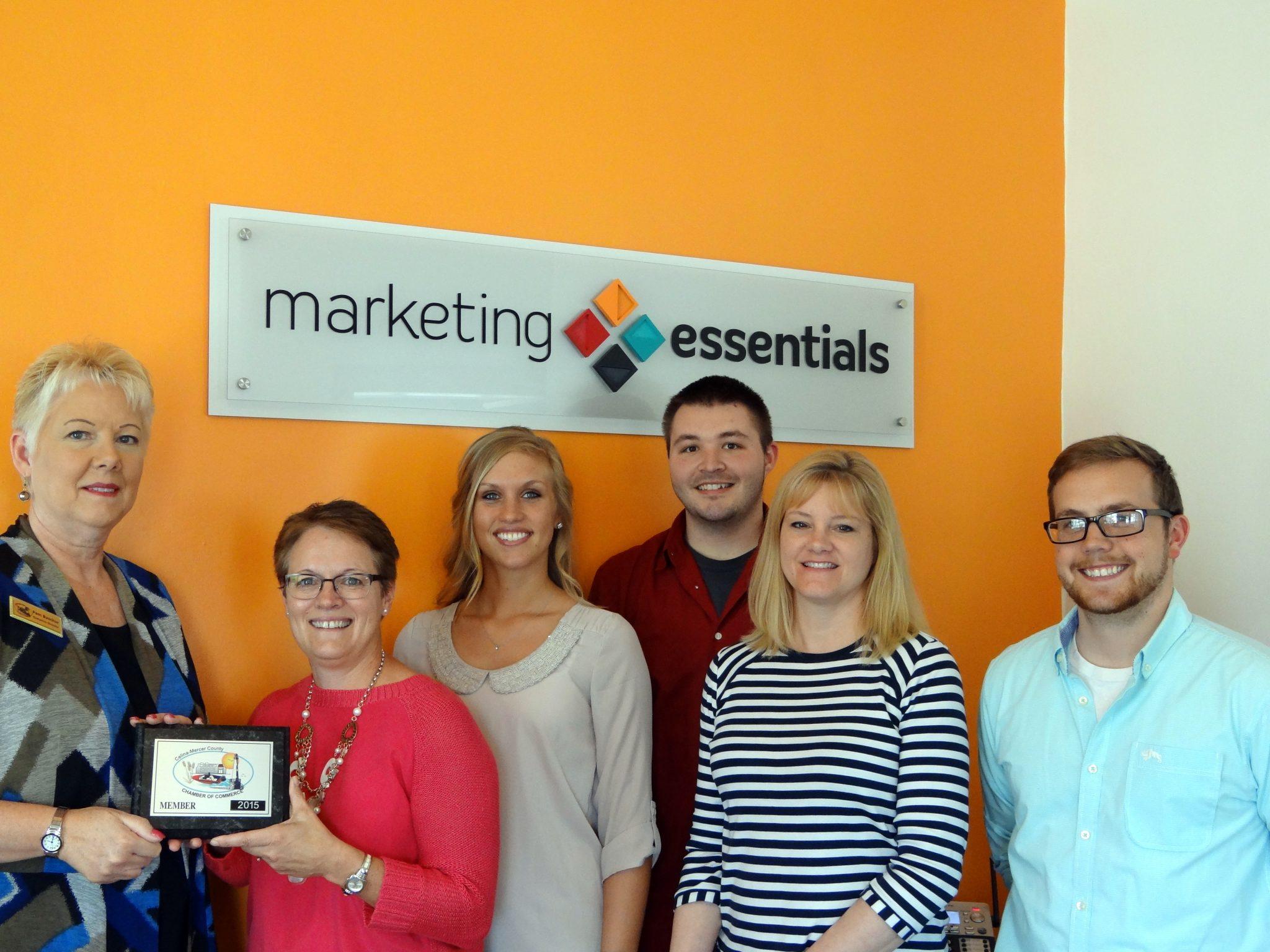 Marketing Essentials LLC joins Chamber