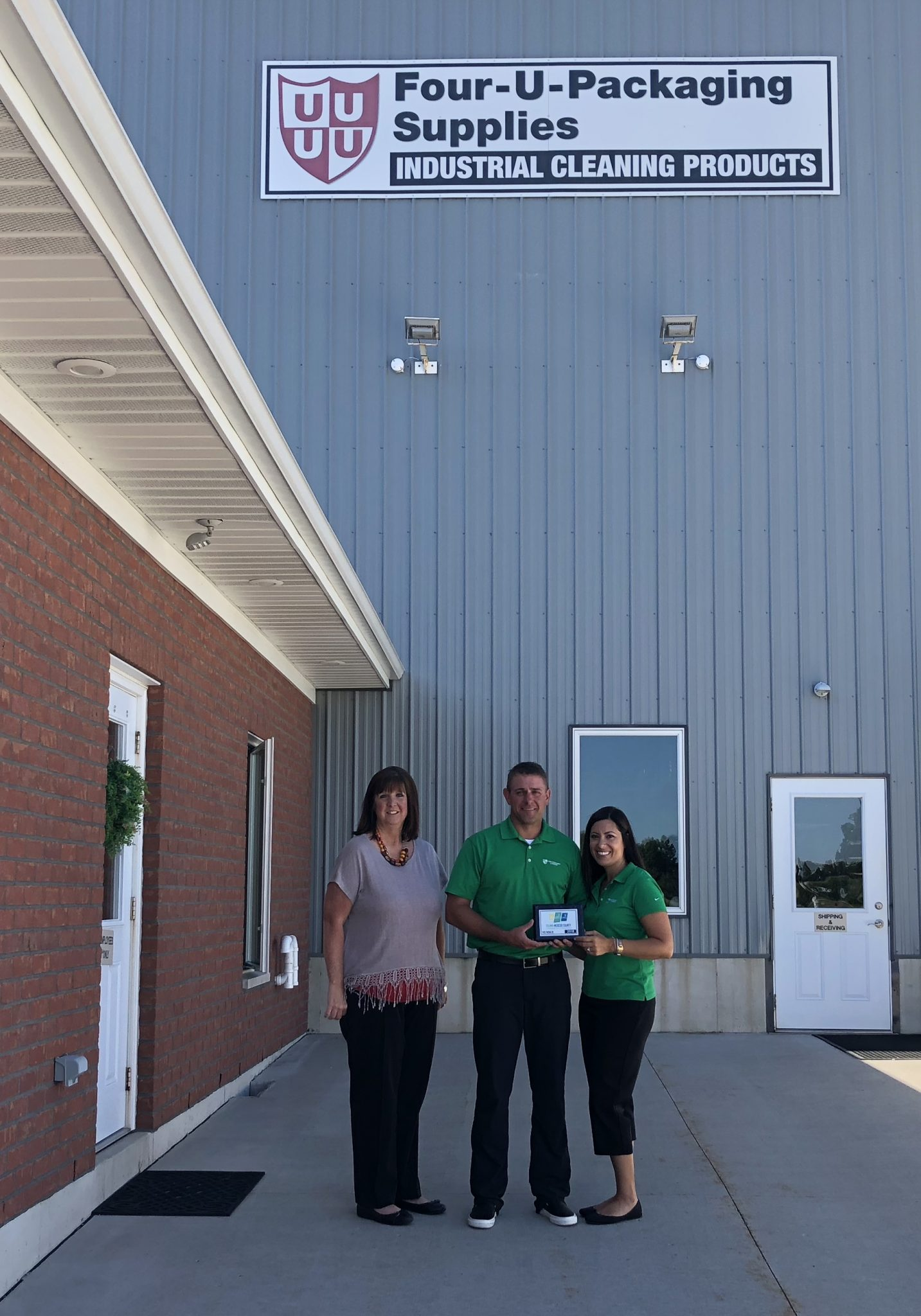 Four U Packaging & Supplies joins Chamber